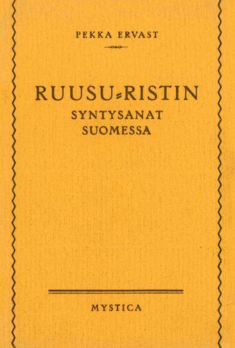 Ruusu-Ristin syntysanat Suomessa