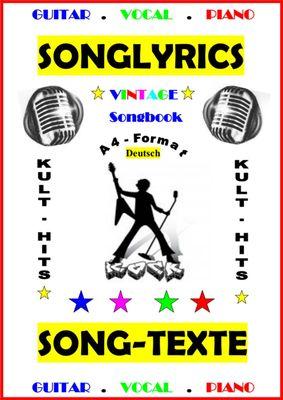 100 Deutsche Songtexte + Gitarren - Playbacks