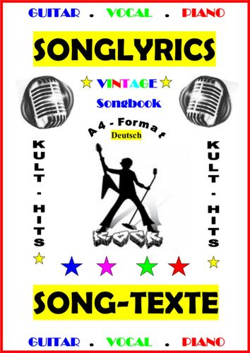 100 Deutsche Songtexte + Gitarren - Playbacks