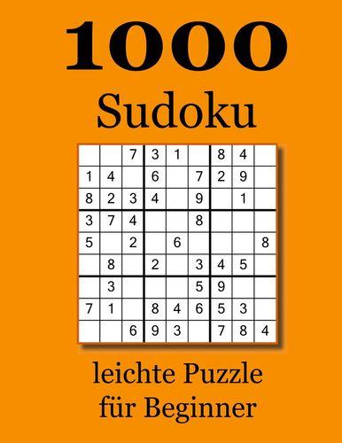 1000 Sudoku leichte Puzzle für Beginner