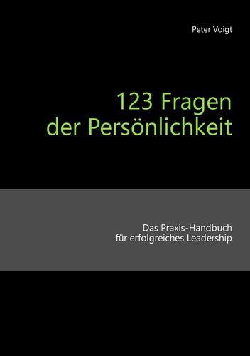 123 Fragen der Persönlichkeit