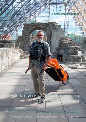 1500 km zu Fuß auf Pilgerwegen durch Skandinavien