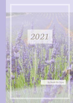 2021 Sarah Ela Joyne Kalender - Wochenplaner - Terminplaner - Design: Provence