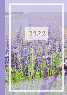 2022 Sarah Ela Joyne Kalender - Wochenplaner - Terminplaner - Design: Provence