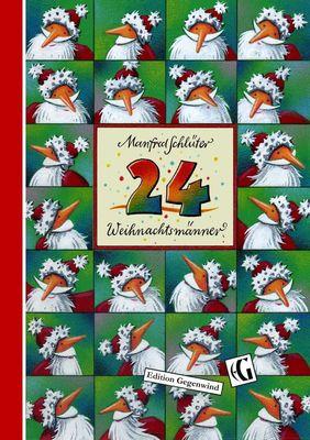 24 Weihnachtsmänner