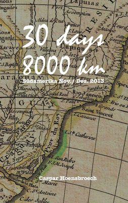 30 days 8000 km