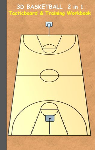 3D Basketball 2 in 1 Tacticboard and Training Book