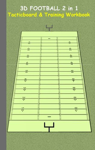 3D Football 2 in 1 Tacticboard and Training Book