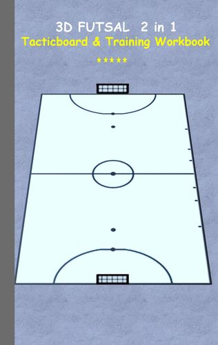 3D Futsal 2 in 1 Tacticboard and Training Book