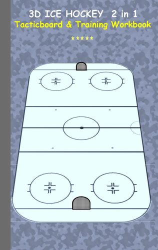 3D Ice Hockey 2 in 1 Tacticboard and Training Book
