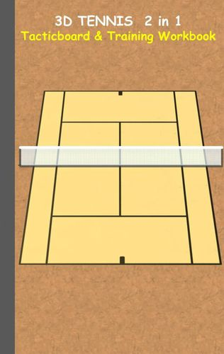 3D Tennis Tacticboard and Training Workbook