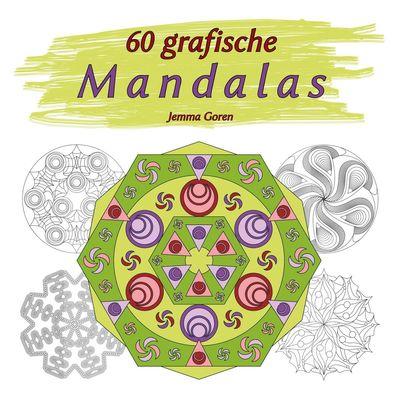 60 grafische Mandalas