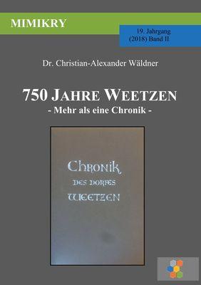 750 Jahre Weetzen