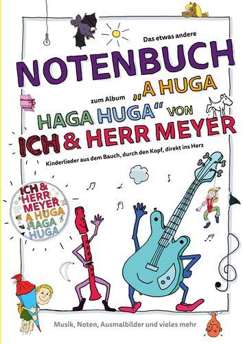 A HUGA HAGA HUGA Notenbuch