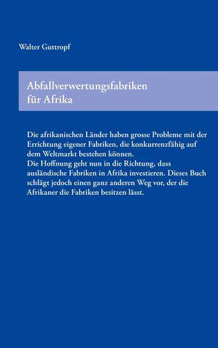 Abfallverwertungsfabriken für Afrika