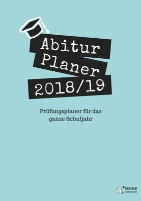 Abitur Planer 2018/19