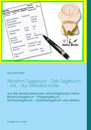 Abnehm Tagebuch Diat Tagebuch Xxl Zur Selbstkontrolle