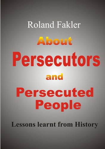 About Persecutors and Persecuted People