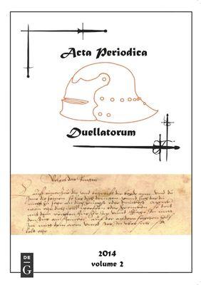 Acta Periodica Duellatorum (vol. 2)
