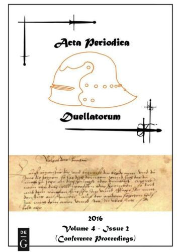 Acta Periodica Duellatorum (vol. 4, issue 2)