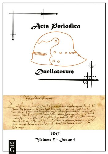 Acta Periodica Duellatorum (vol. 5, issue 1)