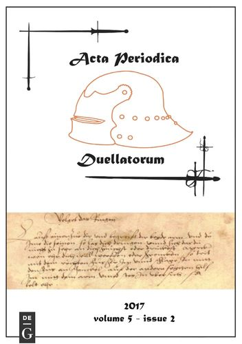Acta Periodica Duellatorum (vol. 5, issue 2)