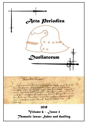 Acta Periodica Duellatorum (vol. 6, issue 2)