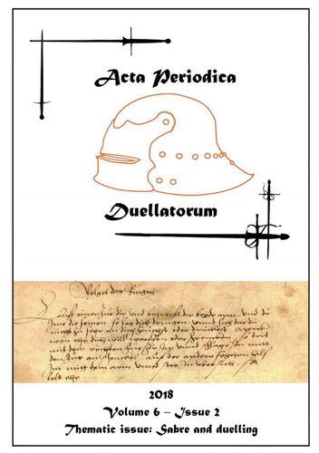Acta Periodica Duellatorum (vol. 6, issue 2)