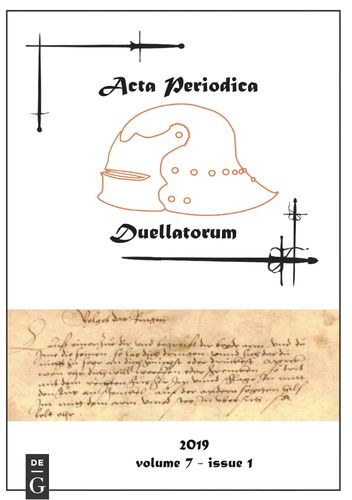 Acta Periodica Duellatorum (vol. 7, issue 1)