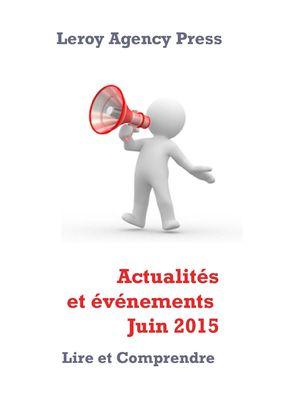 Actualités et événements Juin 2015