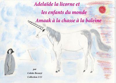 Adélaïde la licorne et les enfants du monde - Amaak à la chasse à la baleine