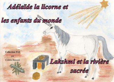 Adélaïde la licorne et les enfants du monde - Lakshmi et la rivière sacrée