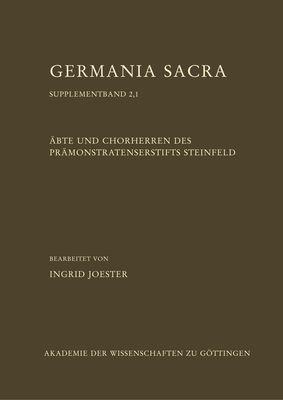 Äbte und Chorherren des Prämonstratenserstifts Steinfeld, Teil 1