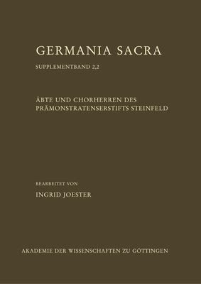 Äbte und Chorherren des Prämonstratenserstifts Steinfeld, Teil 2