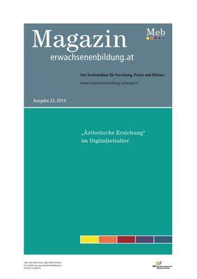 """""""Ästhetische Erziehung""""  im Digitalzeitalter"""