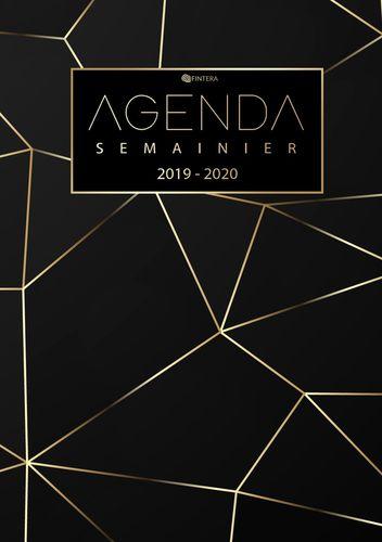 Agenda 2019 2020 - Agenda Semainier et Calendrier Août 2019 à Décembre 2020 Agenda Journalier