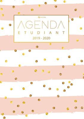 Agenda Etudiant 2019/2020 - Agenda Semainier et Agenda Journalier Scolaire - Cadeau Enfant et Étudiant