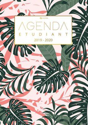 Agenda Etudiant 2019/2020 - Calendrier de Août 2019 à Août 2020- Agenda Semainier et Agenda Journalier Scolaire