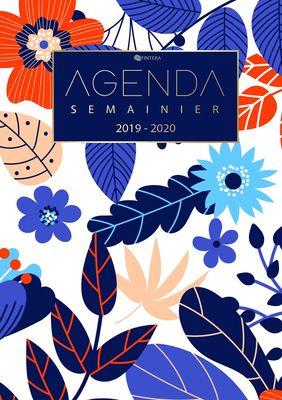 Agenda Journalier 2019 2020 - Agenda Semainier Août 2019 à Décembre 2020 Calendrier Agenda de Poche