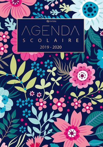 Agenda Scolaire 2019 / 2020 - Calendrier de Août 2019 à Août 2020 et Agenda Semainier et Agenda Journalier Scolaire pour l'année Scolaire - Cadeau Enfant et Étudiant