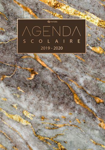 Agenda Scolaire 2019 / 2020 - Calendrier et Agenda Semainier de Août 2019 à Août 2020 et Agenda Semainier - Cadeau Enfant et Étudiant