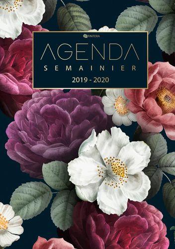 Agenda Semainier 2019 2020 - Agenda de Poche et Calendrier Août 2019 à Décembre 2020 Agenda Journalier