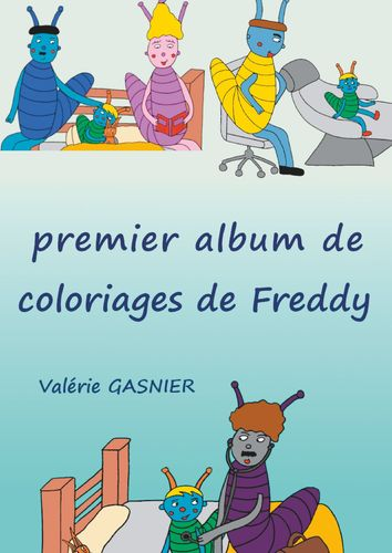 Album de coloriages de Freddy