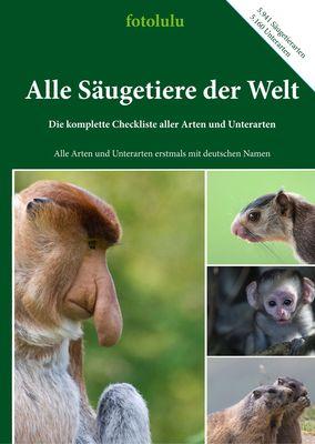Alle Säugetiere der Welt