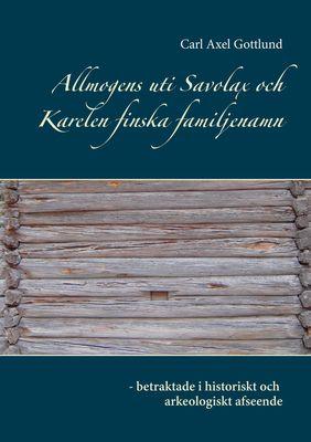 Allmogens uti Savolax och Karelen finska familjenamn