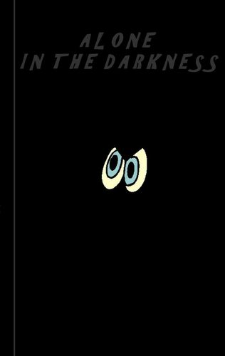 Alone in the darkness - Notebook / Notizbuch