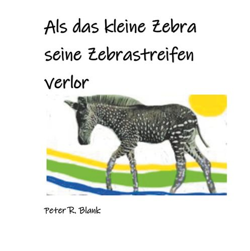 Zebra mit punkten