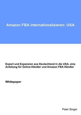 Amazon FBA internationalisieren: USA