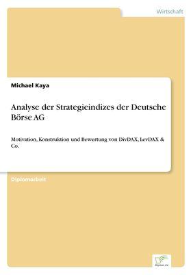 Analyse der Strategieindizes der Deutsche Börse AG