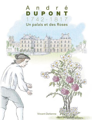 André Dupont (1742-1817) - Un palais et des Roses